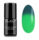 NeoNail, Thermo Color, Lakier hybrydowy termiczny, Green Lantern