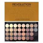MakeUp Revolution Flawless Matte  Paleta 32 cieni do powiek .