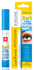Eveline, 8W1 TOTAL ACTION, Skoncentrowane serum do rzęs 8w1